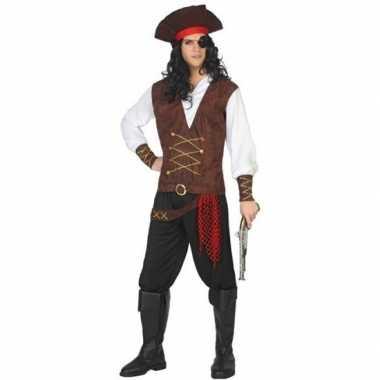 Originele piraat lewis verkleed carnavalskleding/carnavalskleding vol
