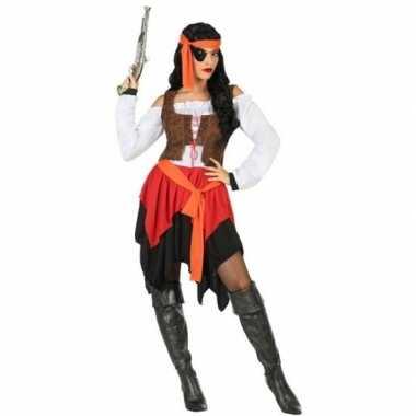 Originele piraat mary verkleed carnavalskleding/carnavalskleding dame