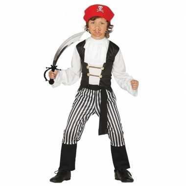 Originele piraten carnavalskleding maat zwaard kinderen