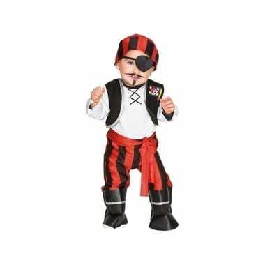 Originele piraten carnavalskleding peuters