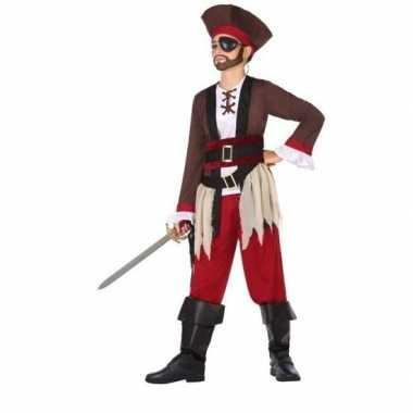 Originele piraten verkleed carnavalskleding jongens