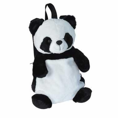 Originele pluche panda beer rugzak/rugtas knuffel carnavalskleding