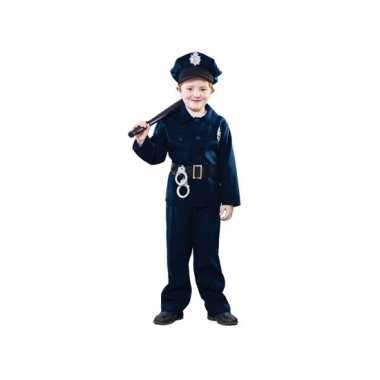 Originele  Politie agent carnavalskleding kinderen
