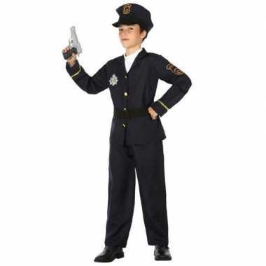 Originele politie agent carnavalskleding / verkleed carnavalskleding
