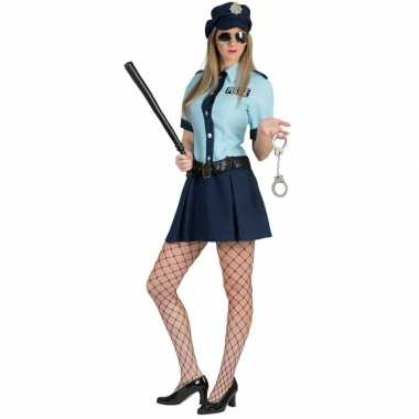 Originele politie agente carnavalskleding dames