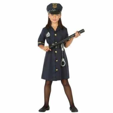Originele politie agente verkleed carnavalskleding/carnavalskleding m