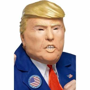 Originele president trump masker carnavalskleding
