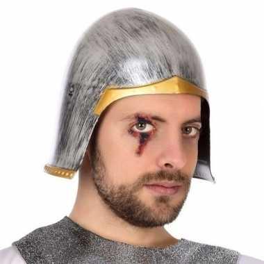 Originele ridder verkleed helm heren carnavalskleding
