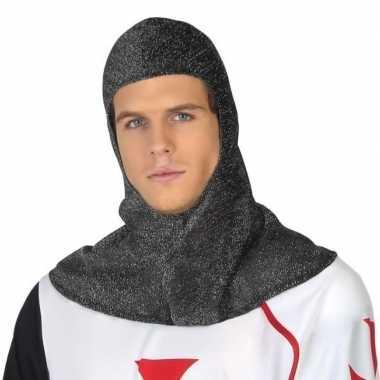 Originele ridder verkleed kap heren carnavalskleding