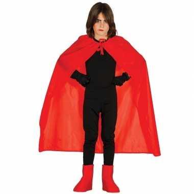 Originele rode halloween verkleedcape kinderen carnavalskleding