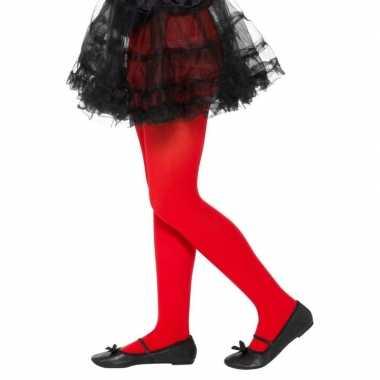 Originele rode legging kinderen jaar carnavalskleding