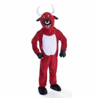 Originele rode stier carnavalskleding volwassenen