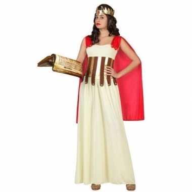 Originele romeinse/griekse dame aurelia verkleed carnavalskleding/car