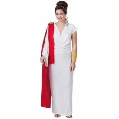 Originele romeinse keizerin verkleed carnavalskleding dames