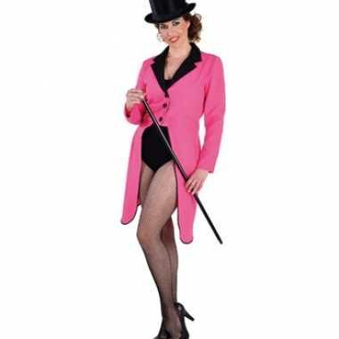 Roze Carnavalskleding Dames.Originele Roze Circus Slipjas Dames Carnavalskleding Originele
