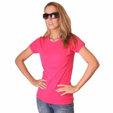 Originele roze dames shirtje bella carnavalskleding