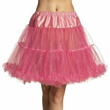 Originele roze petticoat dames carnavalskleding