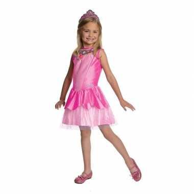 Originele roze prinsesen carnavalskleding meisjes