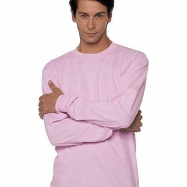 Originele roze t shirts lange mouwen top kwaliteit carnavalskleding