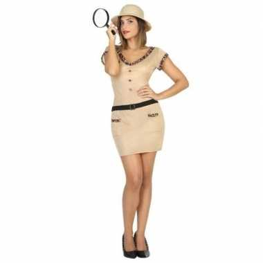 Originele safari/jungle explorer verkleed carnavalskleding dames