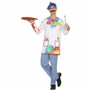 Originele schilder verkleed carnavalskleding/carnavalskleding heren