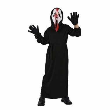 Originele schreeuwend spook carnavalskleding kinderen