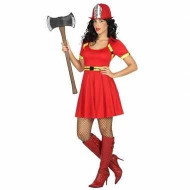 Originele sexy brandweervrouw verkleed carnavalskleding/carnavalskled