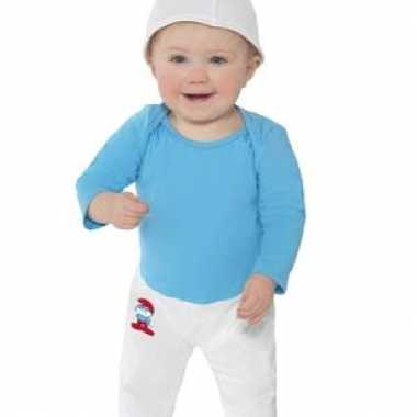 Originele smurfen carnavalskleding baby's