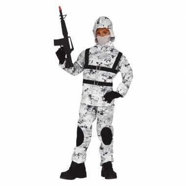 Originele soldaat special forces verkleed carnavalskleding jongens