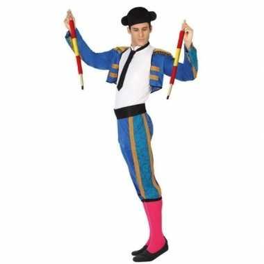 Originele spaanse matador/stierenvechter verkleed carnavalskleding he