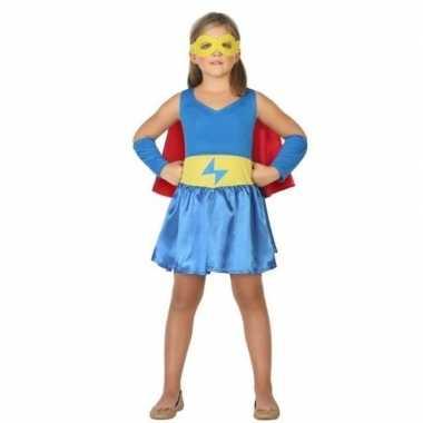 Originele supergirl carnavalskleding/carnavalskleding verkleed carnav