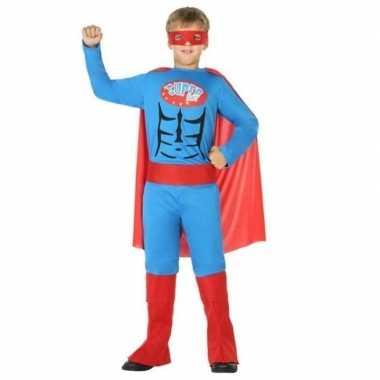 Originele superheld carnavalskleding/verkleed carnavalskleding jongen