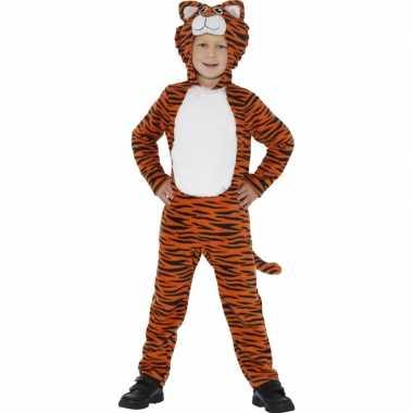 Originele tijger carnavalskleding kinderen