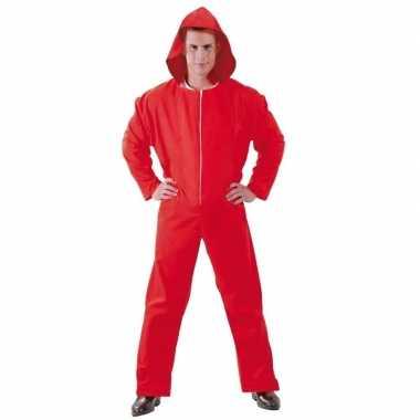 Originele toppers verkleed carnavalskledingl papel rood heren