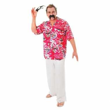 Originele tropische hawaii overhemd heren carnavalskleding