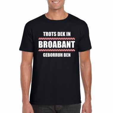 Originele trots dek broabant geborruh ben heren t shirt zwart carnava