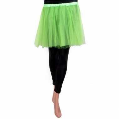 Originele tule rokje meisjes groen carnavalskleding
