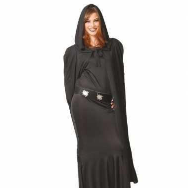Originele vampier cape zwart capuchon carnavalskleding