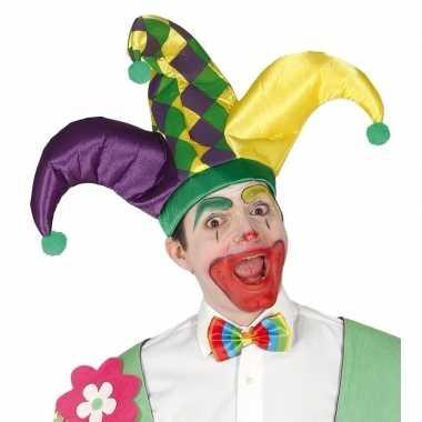 Originele verkleedaccesoire narrenmuts carnavalskleding
