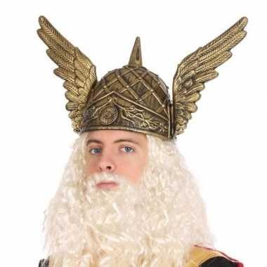 Originele viking verkleed helm heren carnavalskleding