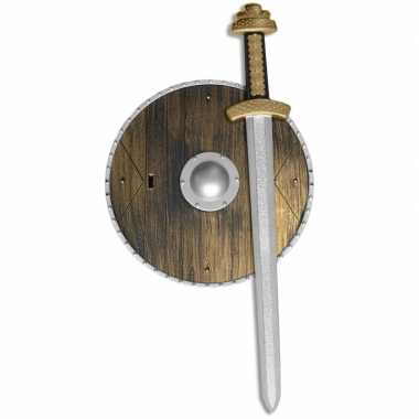 Originele wapenset schild zwaard carnavalskleding