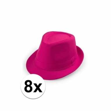 Originele x goedkope roze verkleed hoedjes toppers carnavalskleding