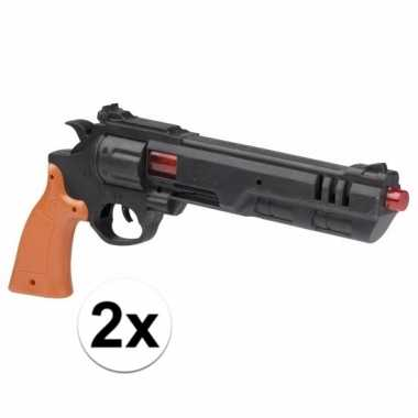 Originele x stuks speelgoed dirty harry politie pistolen carnavalskle