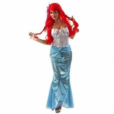 Originele zeemeermin carnavalskleding dames
