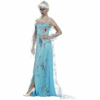 Originele zombie froze to death carnavalskleding dames