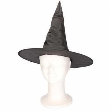 Originele zwart heksenhoedje kinderen carnavalskleding