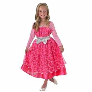 Roze barbie deoriginele carnavalskleding meisjes