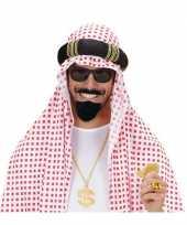 Originele arabische baard snor carnavalskleding