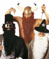 Originele baard snor viking carnavalskleding