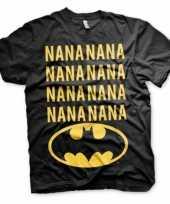 Originele batman nana t-shirt korte mouwen carnavalskleding